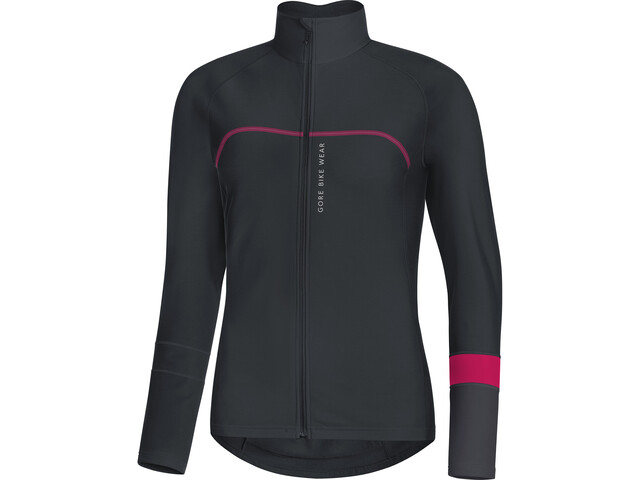 GORE BIKE WEAR Power Thermo Jersey Women black/raven brown